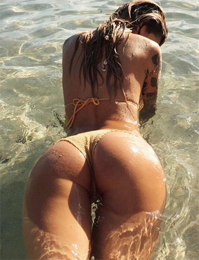 Fotos de gostosas molhadas