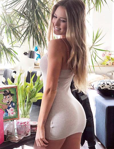 Fotos de mulheres gostosas usando vestido colado