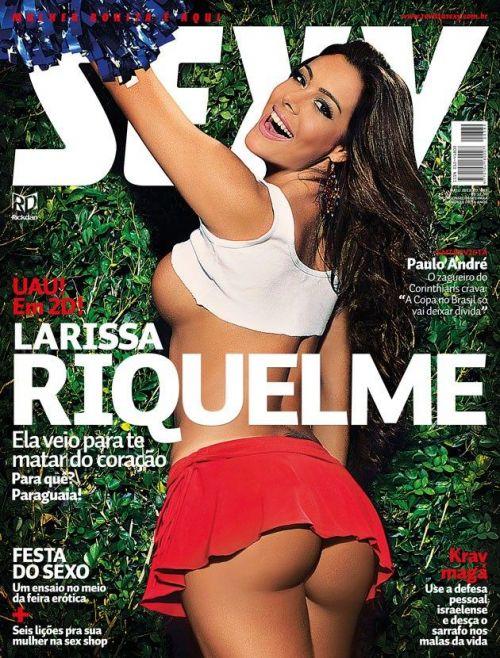 Larissa Riquelme Nua Revista Sexy