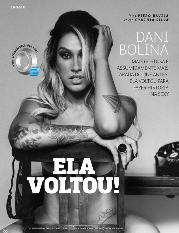 Dani Bolina Nua Sexy