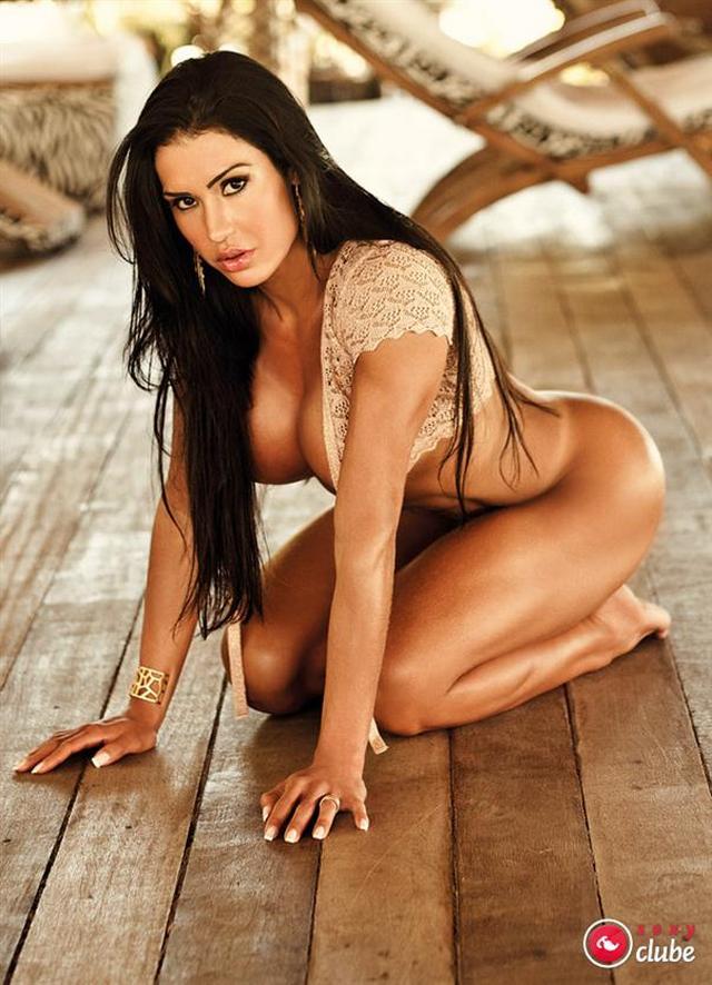 Gracyanne Barbosa Pelada Revista Sexy