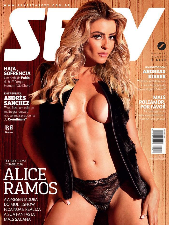 Alice Ramos Nua Revista Sexy